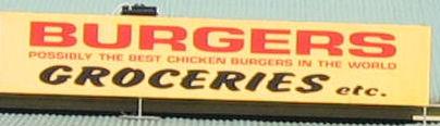 Chicken Burgersign
