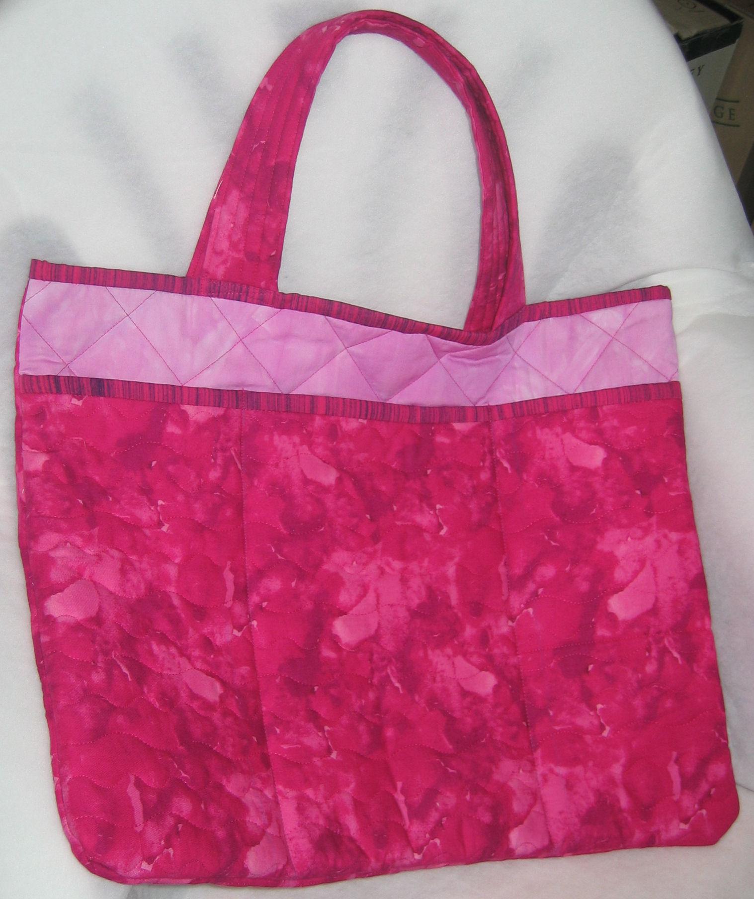 Very pink laptop bag