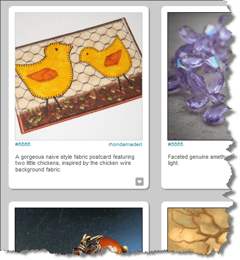 """""""Two little chicks"""" as featured on CraftGawker"""