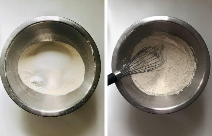 muffin step by step recipe image