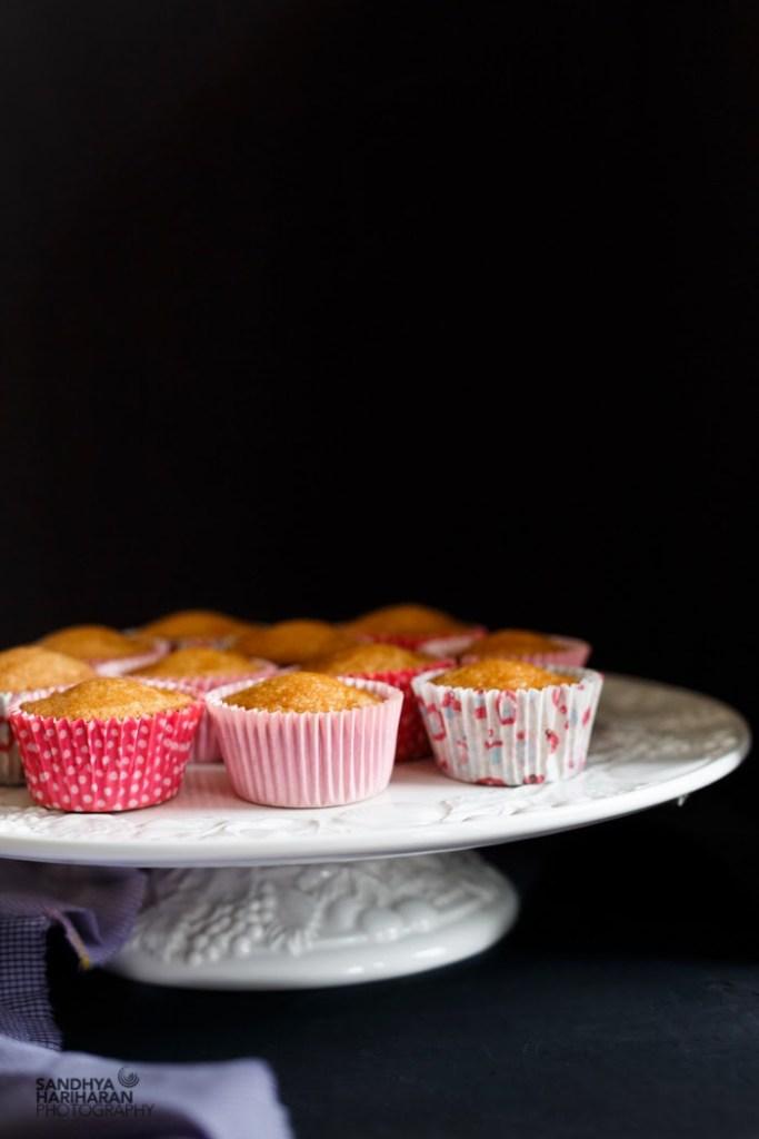 Vanilla Cupcakes with Cream Cheese Buttercream Icing
