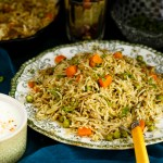 Mint Coriander Pulao Rice Recipe