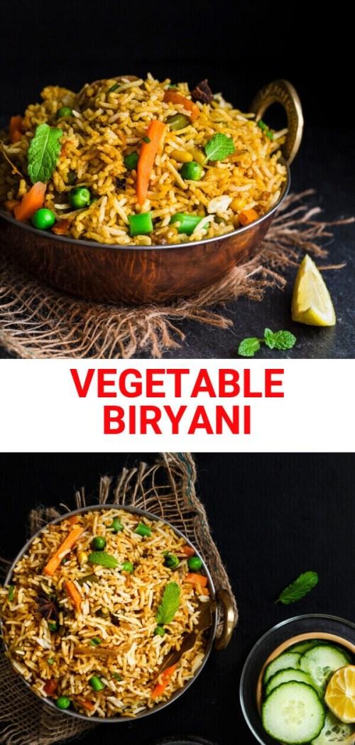 VEGETABLE BIRYANI | SANDHYA'S KITCHEN