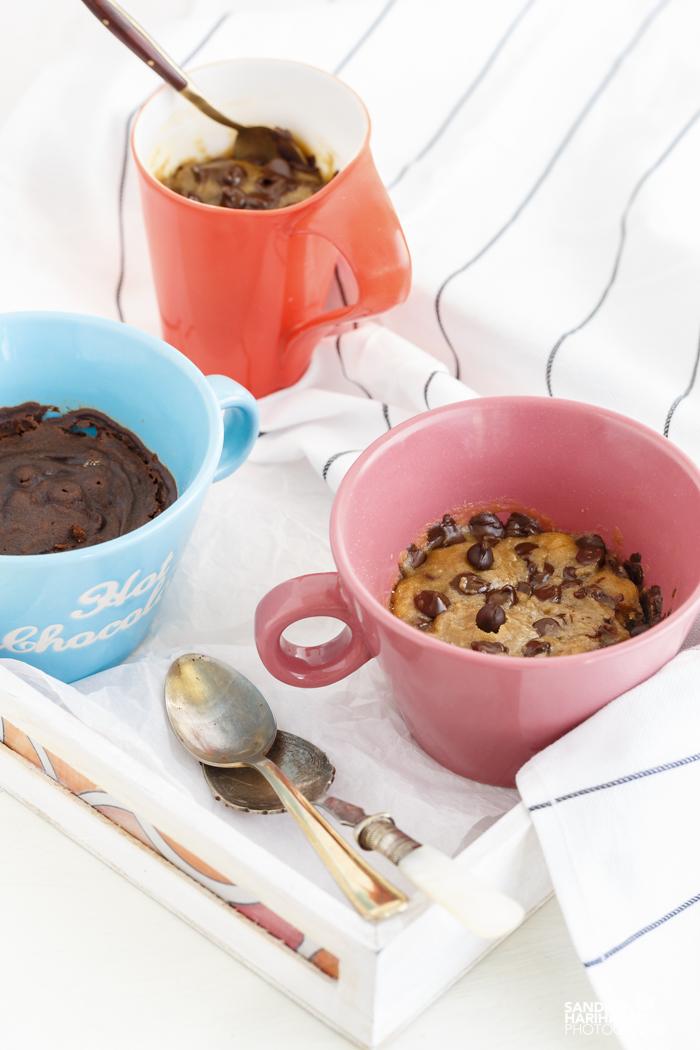2 Minute Mug Chocolate Chip Cookie