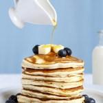 Easy Fluffy American Pancakes Recipe
