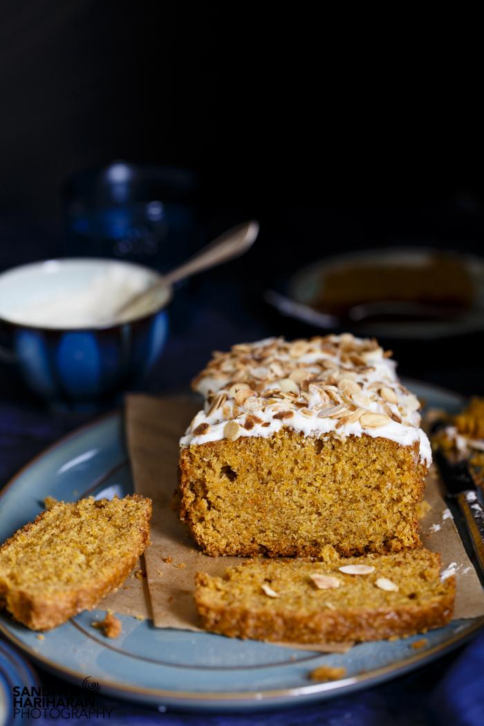 Carrot Cardamom Cake with oil recipe