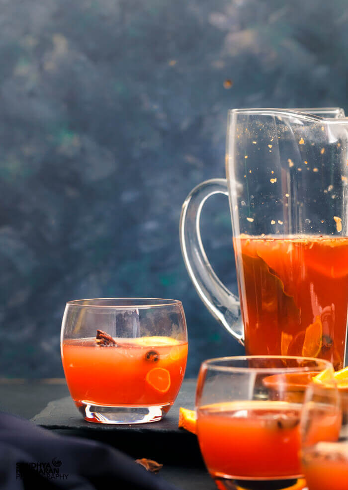 Alcoholfree mulled wine