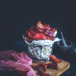 Air fryer Beetroot Chips ( Step by Step )