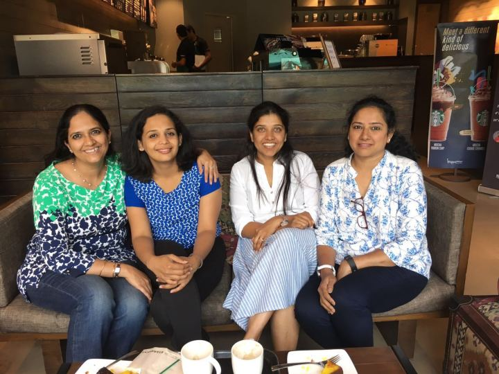 blogger meet radhika madhuri and jayasri