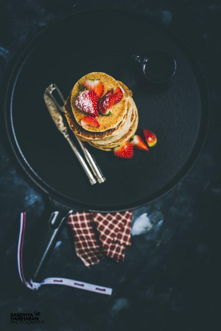 Gluten Free Oats Amaranth Pancakes
