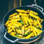 Aloo Capsicum Recipe  | Stir Fried Potato & Capsicum