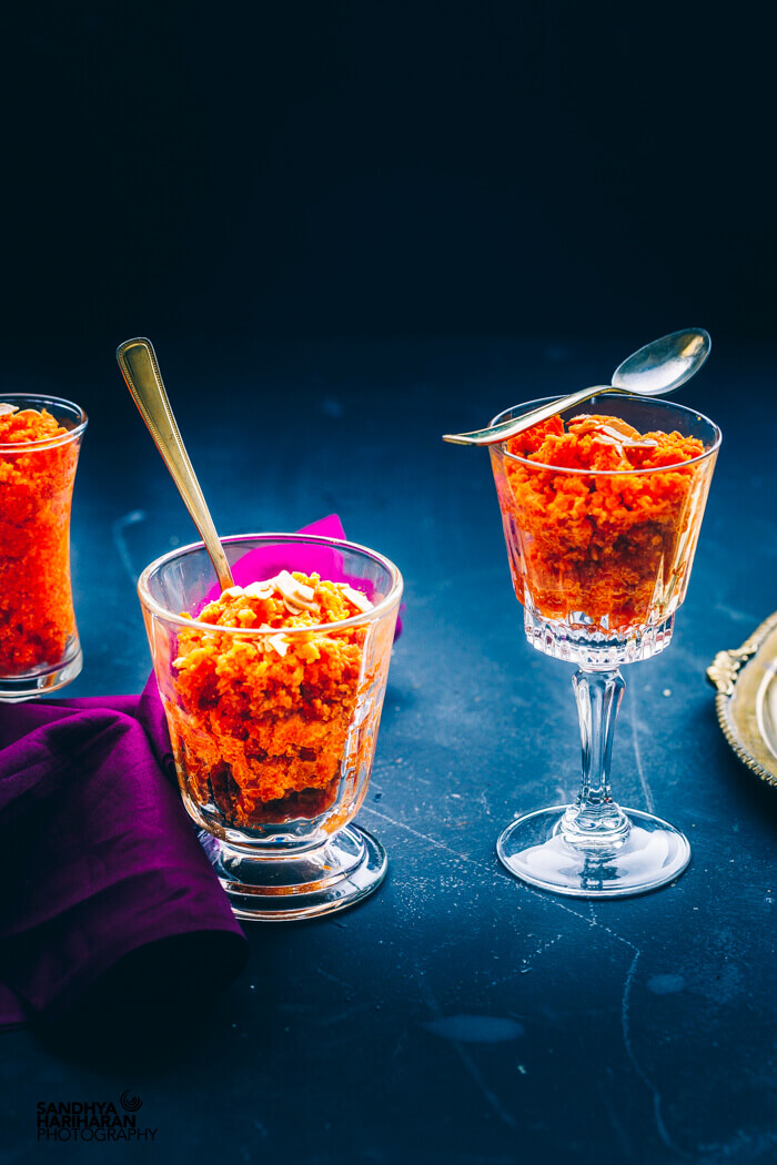 gajar ka halwa recipe with khoya