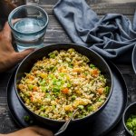 15 Minutes Healthy Cauliflower Fried Rice