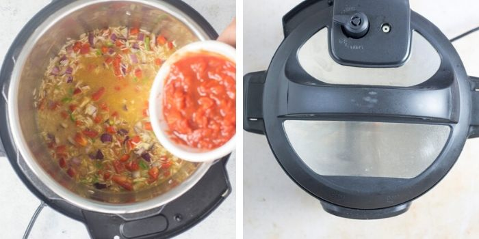 mexican rice step by step image