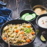 Instant Pot Vegetable Pulao Rice + Step By Step Tutorial