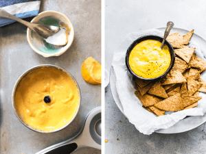 Ingredients for Mango Mustard Dipping Sauce