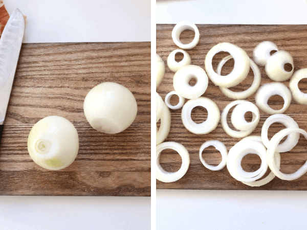how to make onion rings step by step airfryer