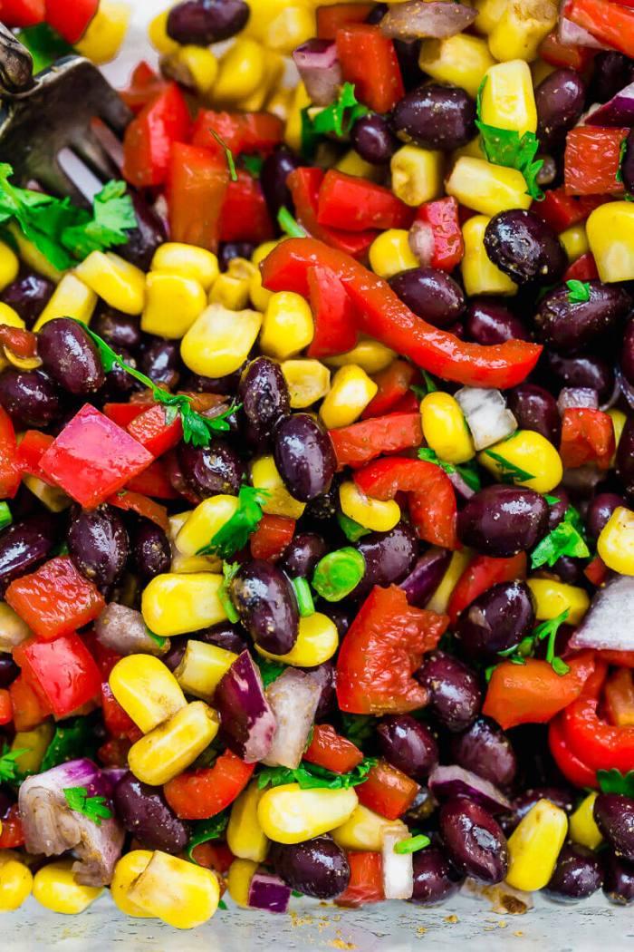 easy veggie quesadilla