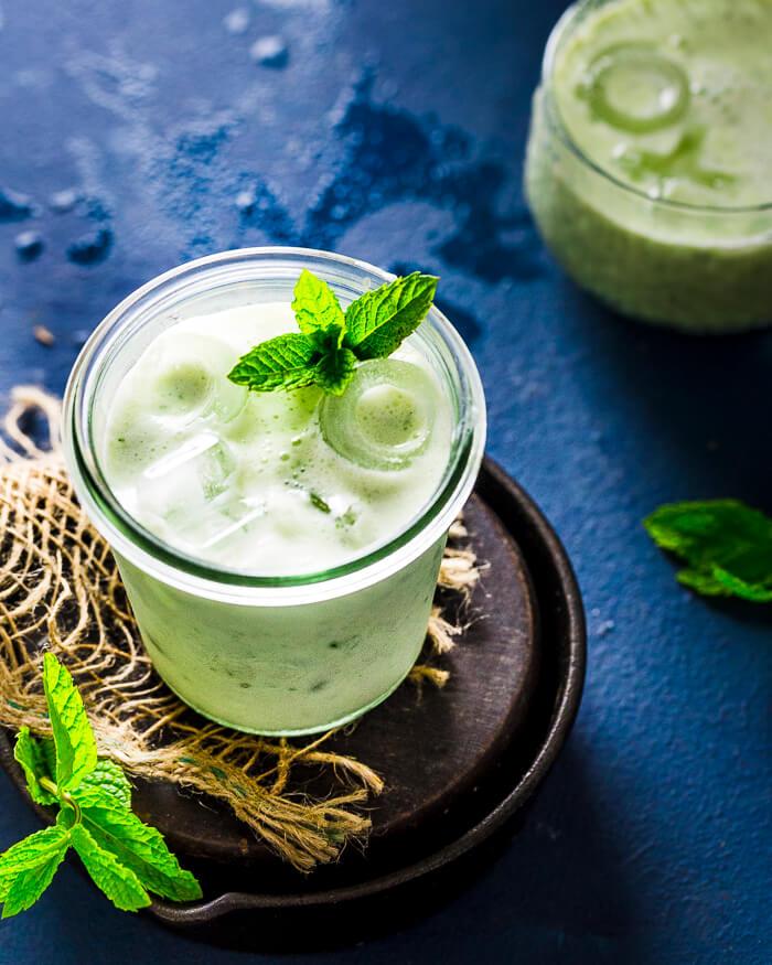 Cucumber Lassi Recipe Image