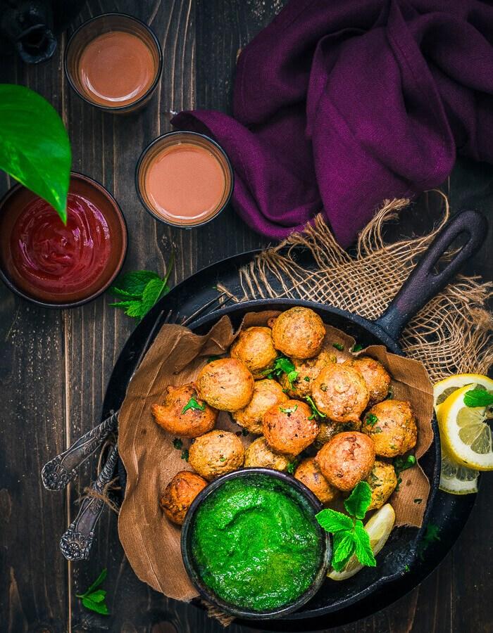 Veggie Haggis Pakora