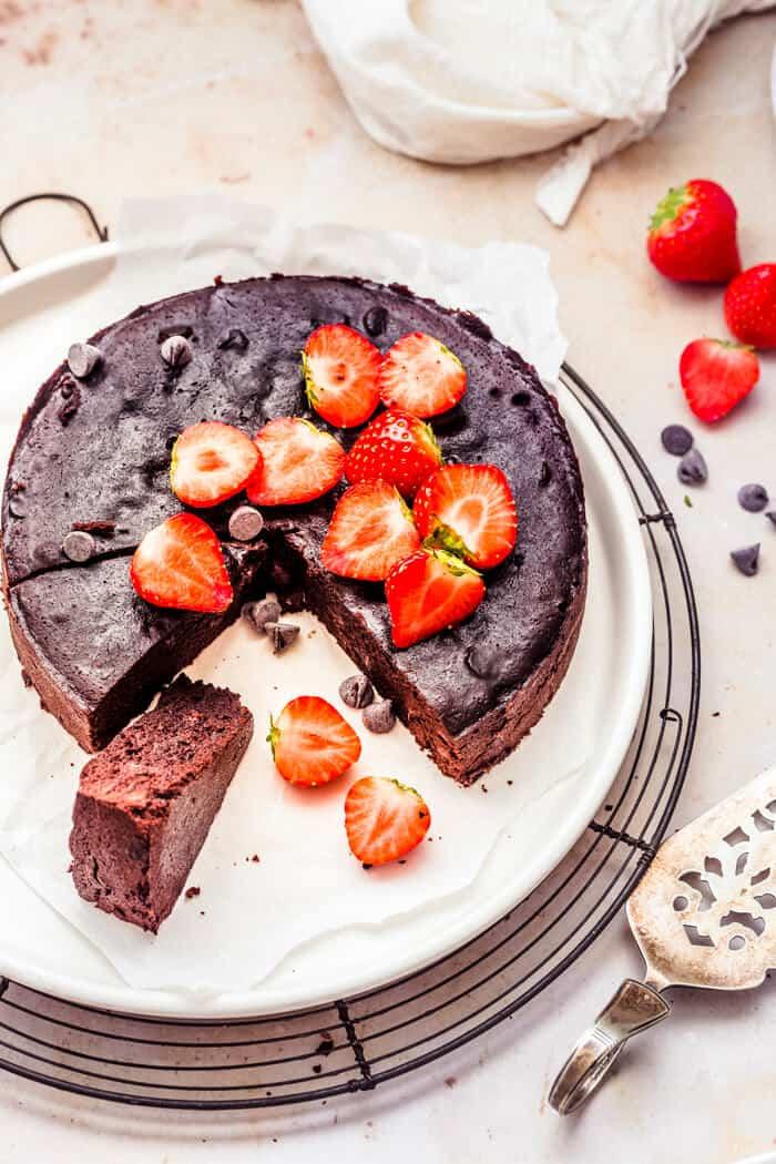 Pressure Cooker Brownies