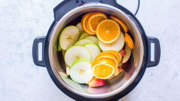 Apples & Oranges in the Instant Pot