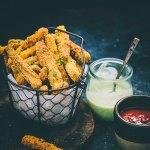 Air fryer Zucchini Fries (+Video Recipe )