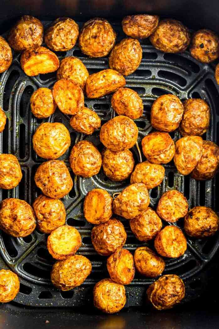 Close up view of Potato roast