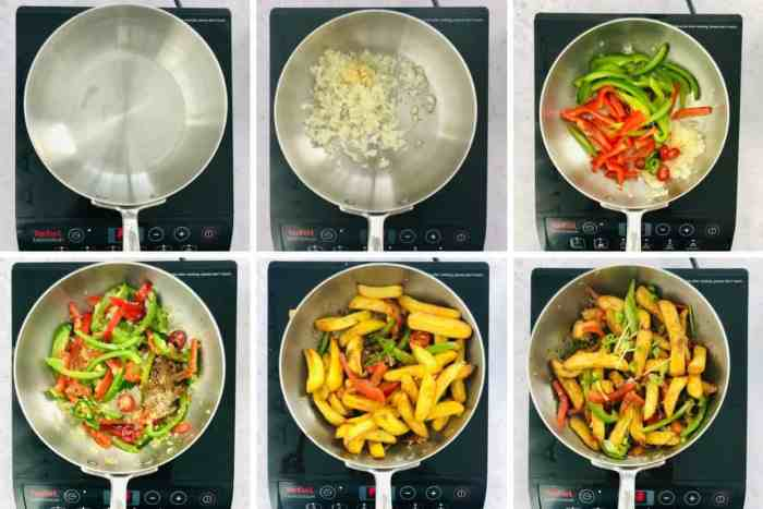 step by step instructions to make Chinese Salt and Pepper Chips