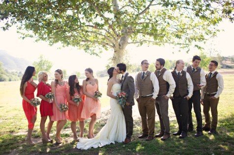 Bates Nut Farm Wedding Photos 35