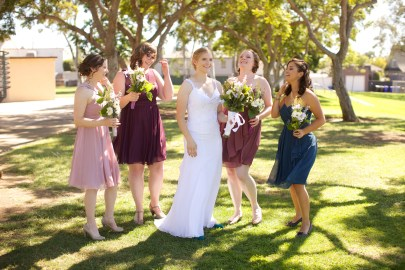 Downtown San Diego Central Library Wedding Images 1468