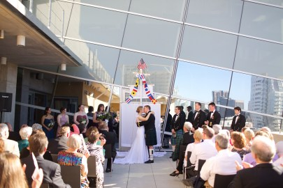 Downtown San Diego Central Library Wedding Images 1496