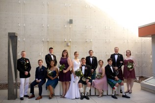 Downtown San Diego Central Library Wedding Images 1501