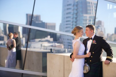 Downtown San Diego Central Library Wedding Images 1513