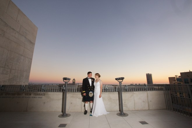 Downtown San Diego Central Library Wedding Images 1535