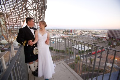 Downtown San Diego Central Library Wedding Images 1537