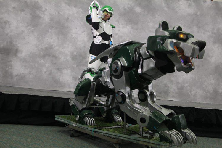 Voltron Legendary Green lion Droid