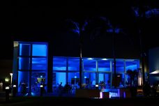 The-Dana-San-Diego-Wedding-Lighting-blue-uplights