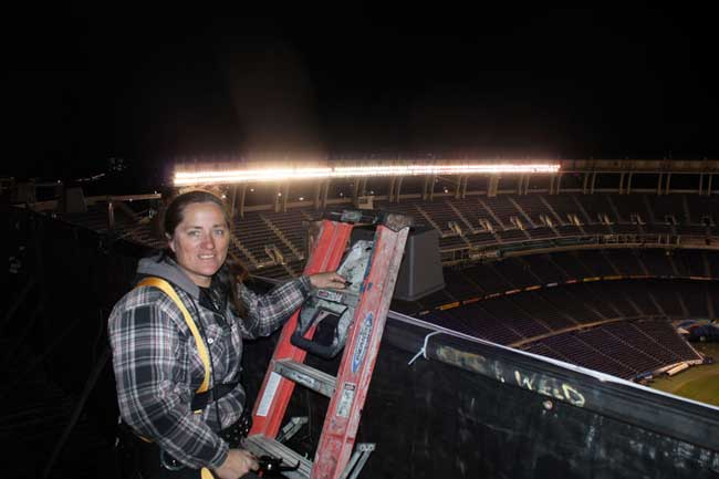 Qualcomm Stadium Maria San Diego Events Lighting