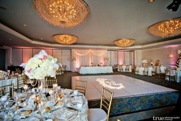 Loews-Coronado-Head-Table-Backdrop-Wedding-Lighting-Custom-Gobo