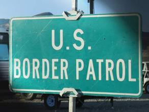 border patrol sign