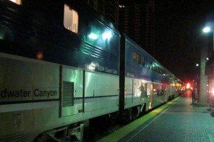 Amtrak jec SD train