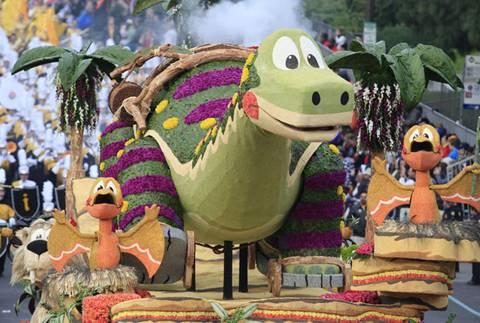 Dino Soar on Parade