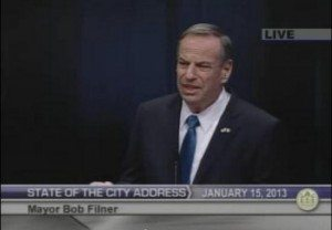 Filner State of City