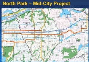 Mid City Map - SANDAG