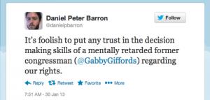 gabby gifford tweet