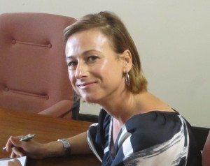 Angie Landsberg closeup