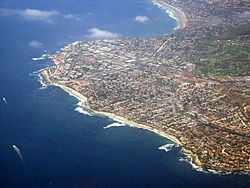 La Jolla from above
