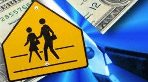 school crossing cash