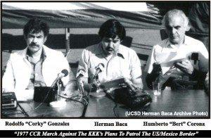 Herman Baca Bert Corona Corky 1977